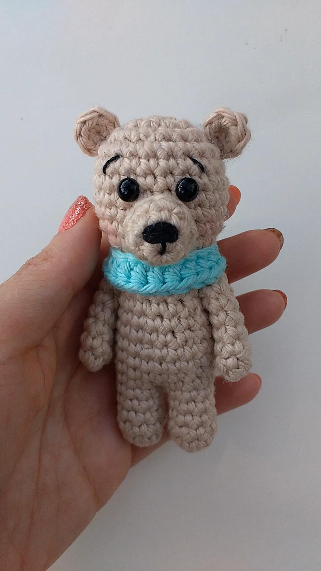 Photo of Crochet Tiny Bear – Free pattern