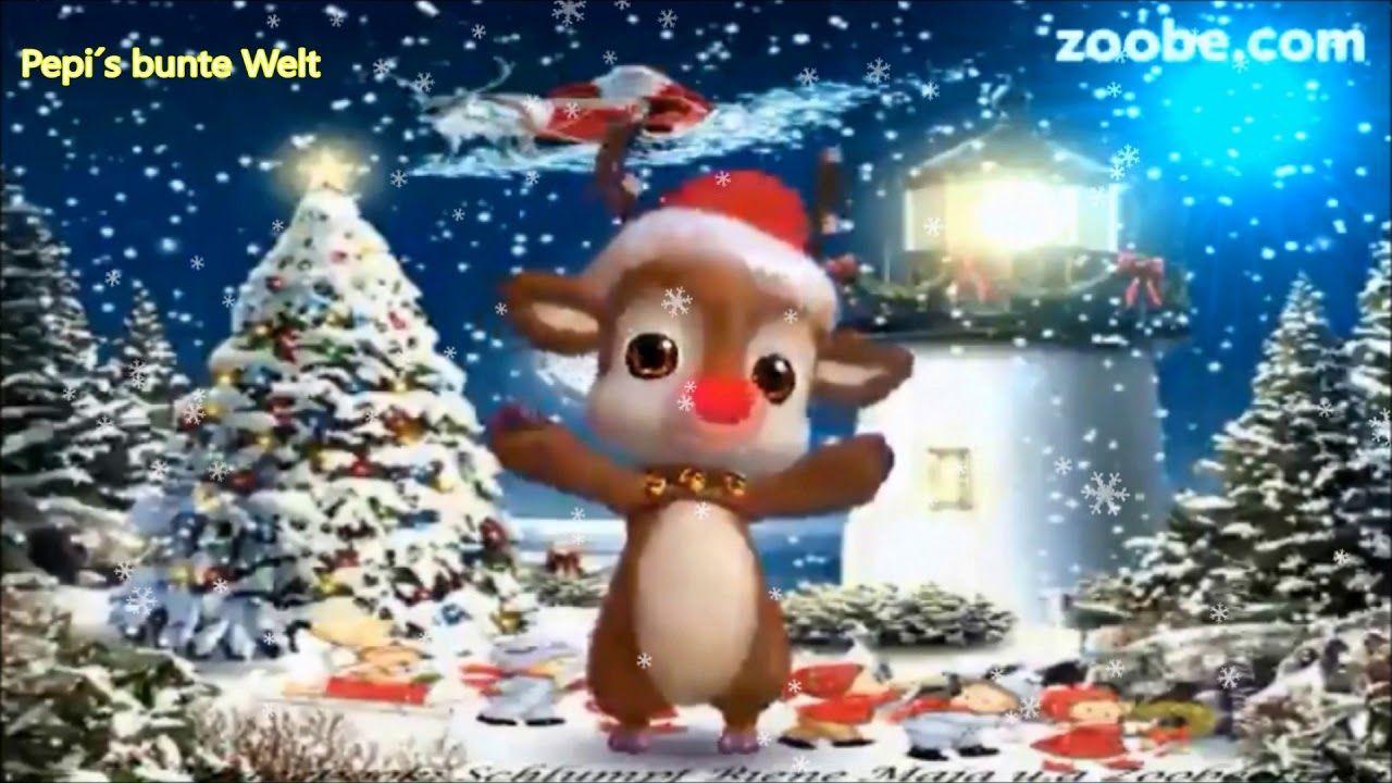 Weihnachtsgrüße In Die Ferne.Frohe Weihnachten Ich Schick Dir Aus Der Ferne Eine Hand Voll