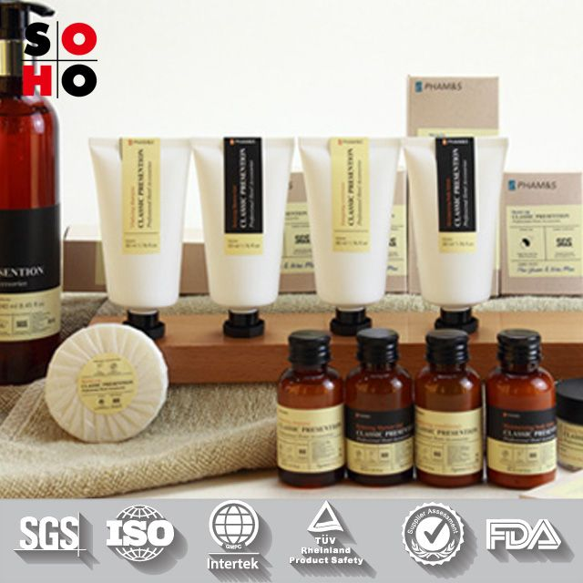 Bulk Bathroom Supplies: Environment Protect 5 Star Hotel Bath Amenities Set