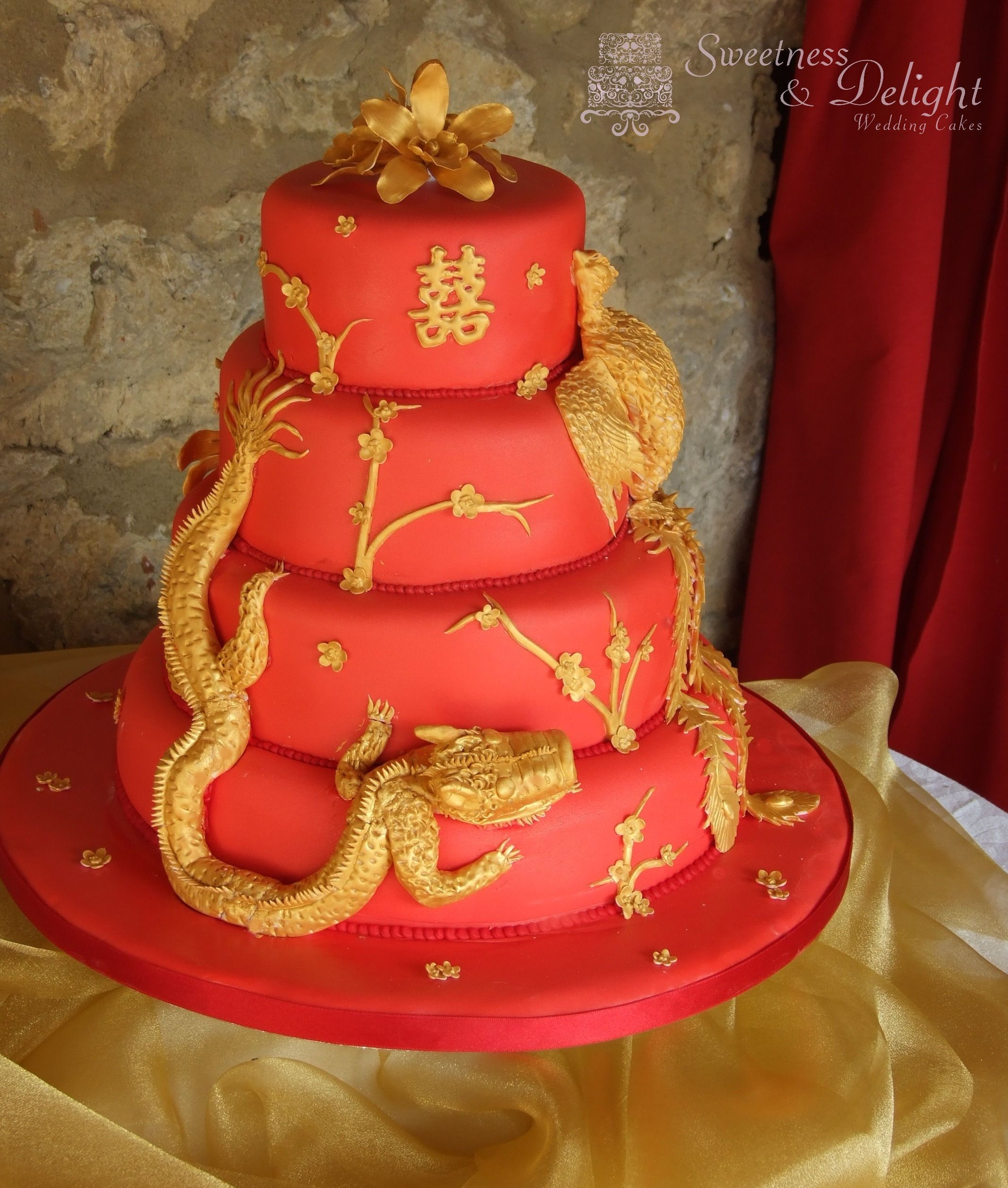 Wedding Cakes Inspired By China Patterns: Chinese Wedding Ideas