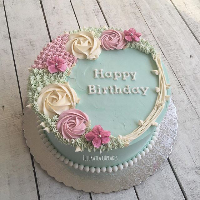 Silence Says A Lot More Than You Think Flower Cake Cake