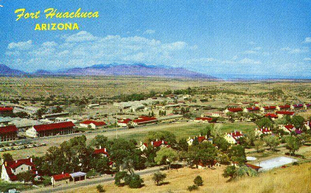 Old Main Post Area Of Ft Huachuca Fort Huachuca Old Fort Arizona