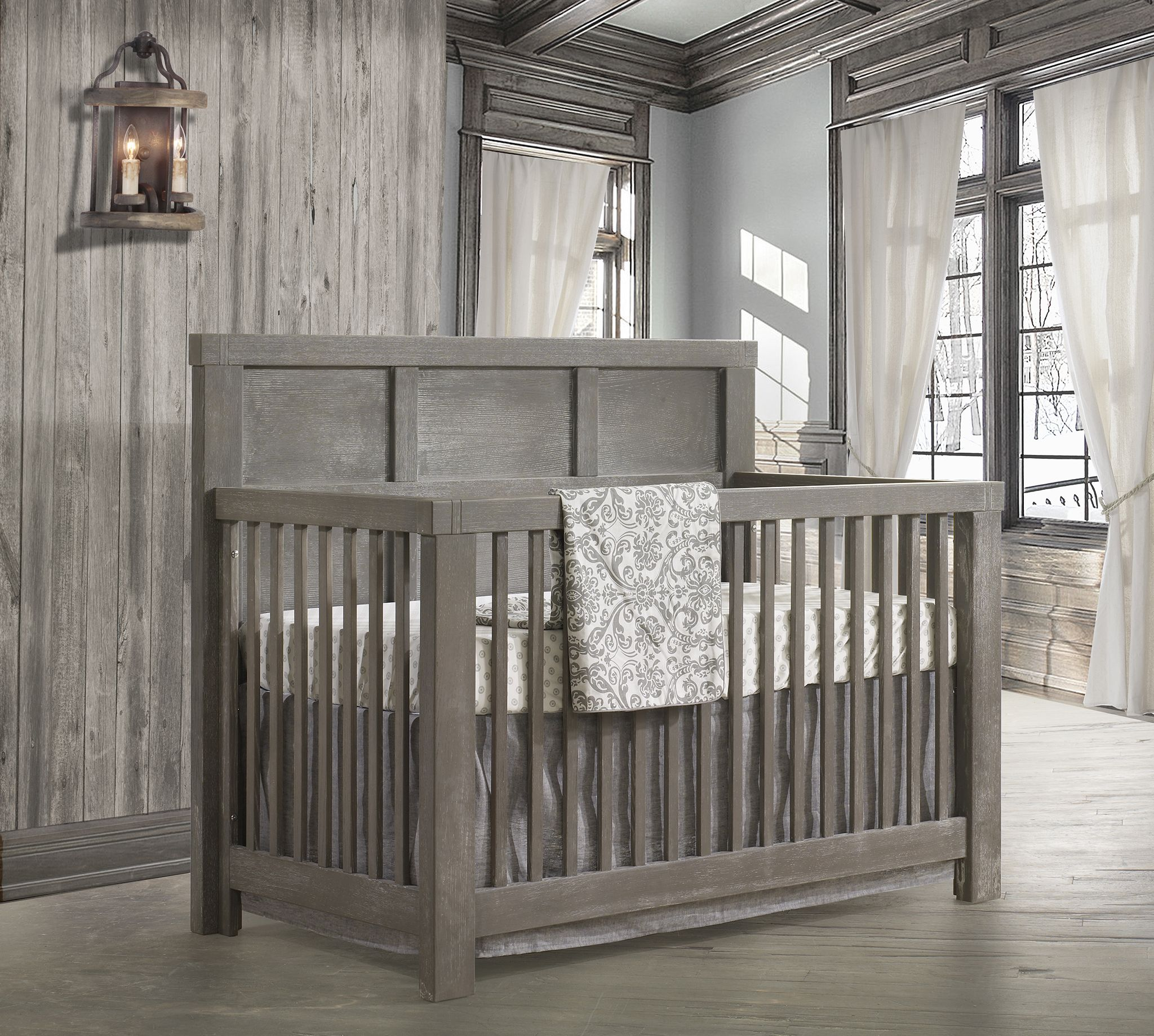 baby furniture sets rustic crib