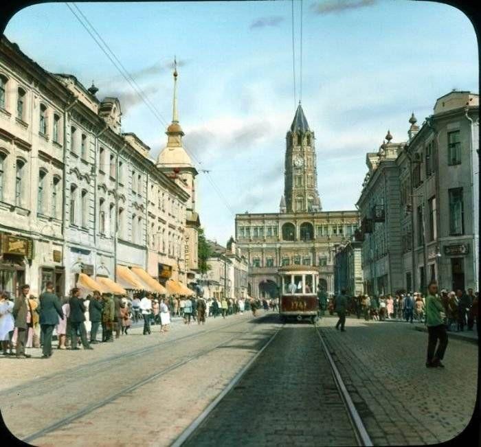 Редчайшие снимки Москвы 1931 года в цвете (77 фото) (с ...