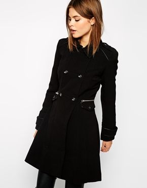 Enlarge Warehouse Crepe Coat | Jackets | Pinterest | Warehouse ...