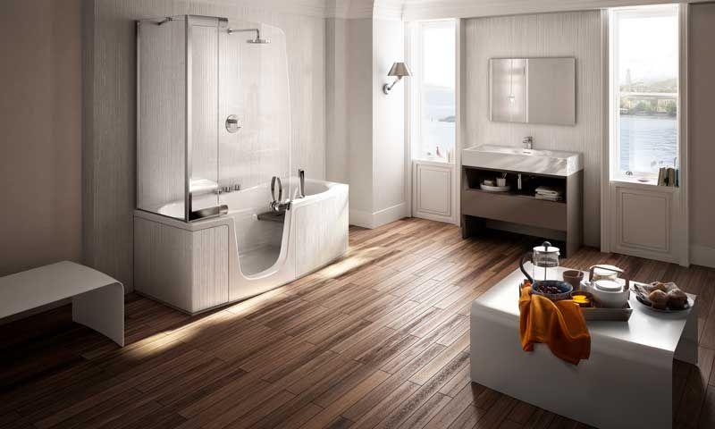 Baños prácticos que son una inspiración   Baños, Disenos ...