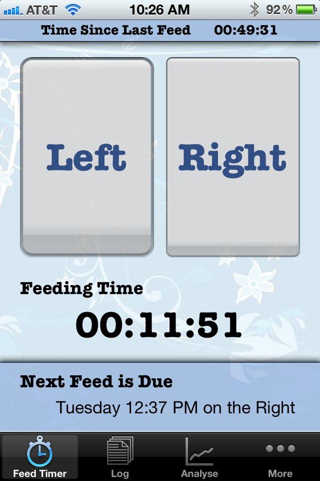 Ibaby Feed Timer Breastfeeding Diaper Tracker App Absolutely