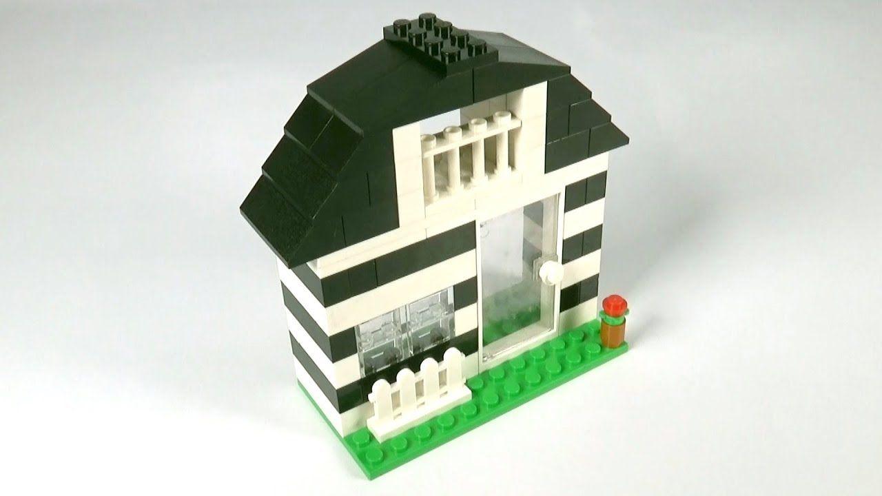 Lego Basic House 006 Building Instructions Lego Classic How To