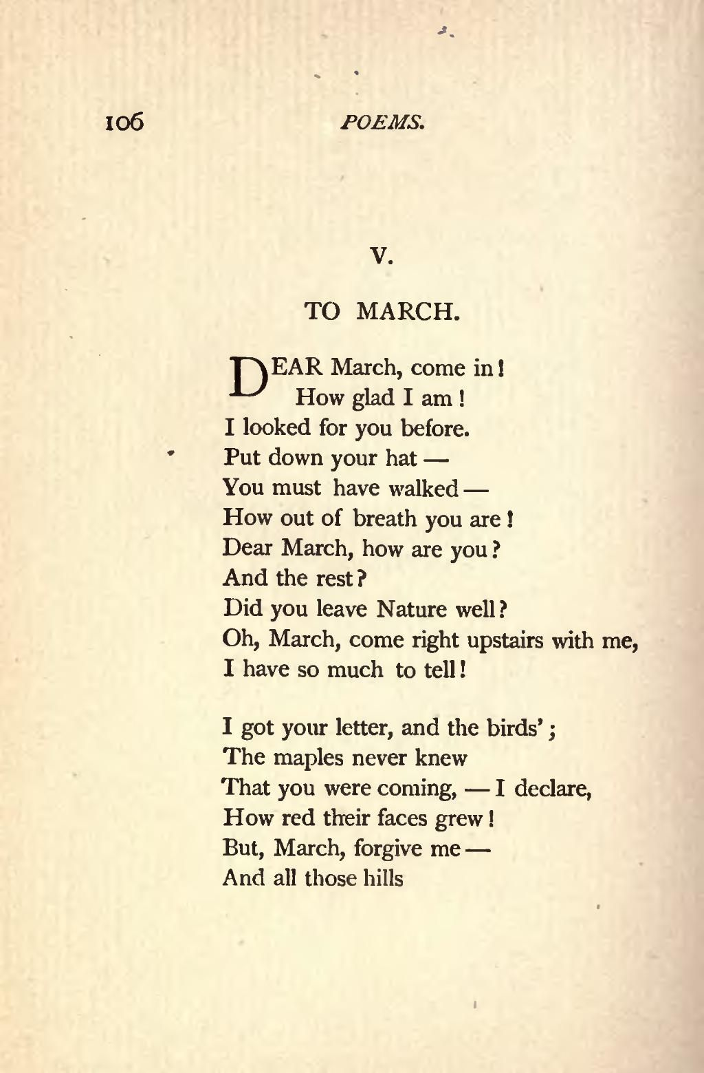 Famous Poems By Emily Dickinson Emily Dickinson Poems