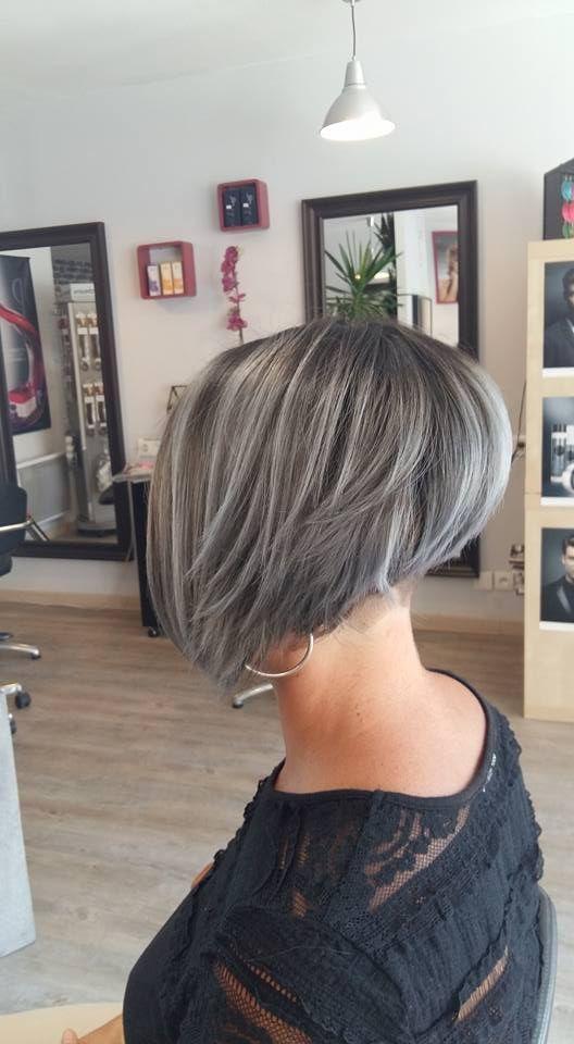 15x Super Trendy Und Stilvolle Kurze Frisuren Schon Frisuren Kurz Frisuren Graue Haare Frisuren