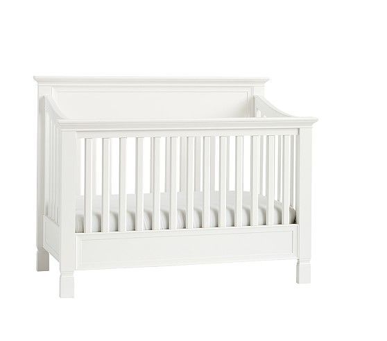 Larkin 4 In 1 Crib With Water Base Finish, Simply White | Baby Needs |  Pinterest | Crib And Babies