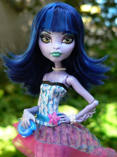 Monster High Custom Create A Monster Sea Monster by Bratzboi | eBay