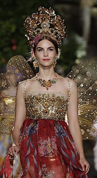 Dolce & Gabbana Alta Moda Fall Winter 2015-2016