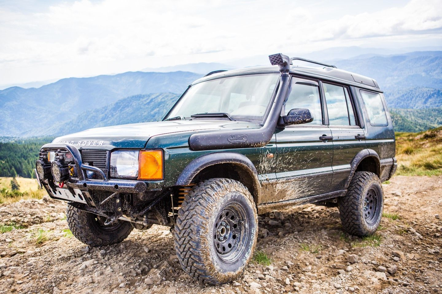 Land Rover Discovery 2 Off Road Romania