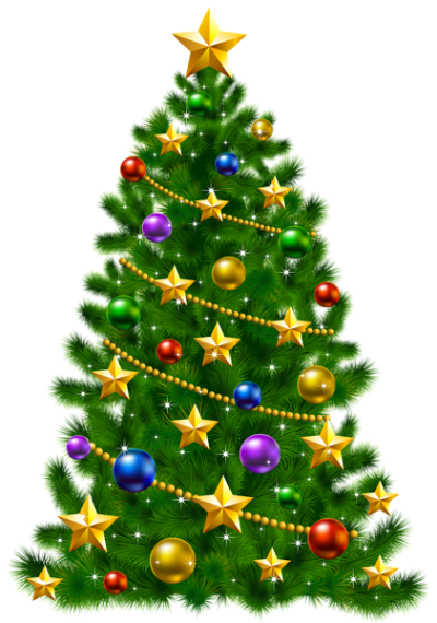 47+ Christmas tree clipart no background information