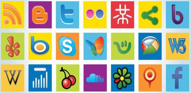 Awesome collection of 35 free social media networks logos icons vector art graphics for graphic designers, authors, web masters, developers, illustrators, connect with the web 2.0 world with this handy vector pack and Give your visitors a way to spread the word with these social networking graphics, This social media icons are in Illustrator EPS and AI format.