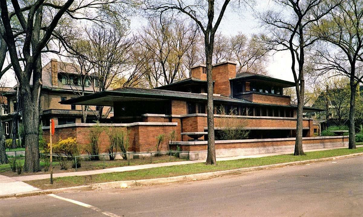 Making Of Prairie House 3d Architectural Visualization Rendering Blog In 2020 Frank Lloyd Wright Homes Robie House Prairie House