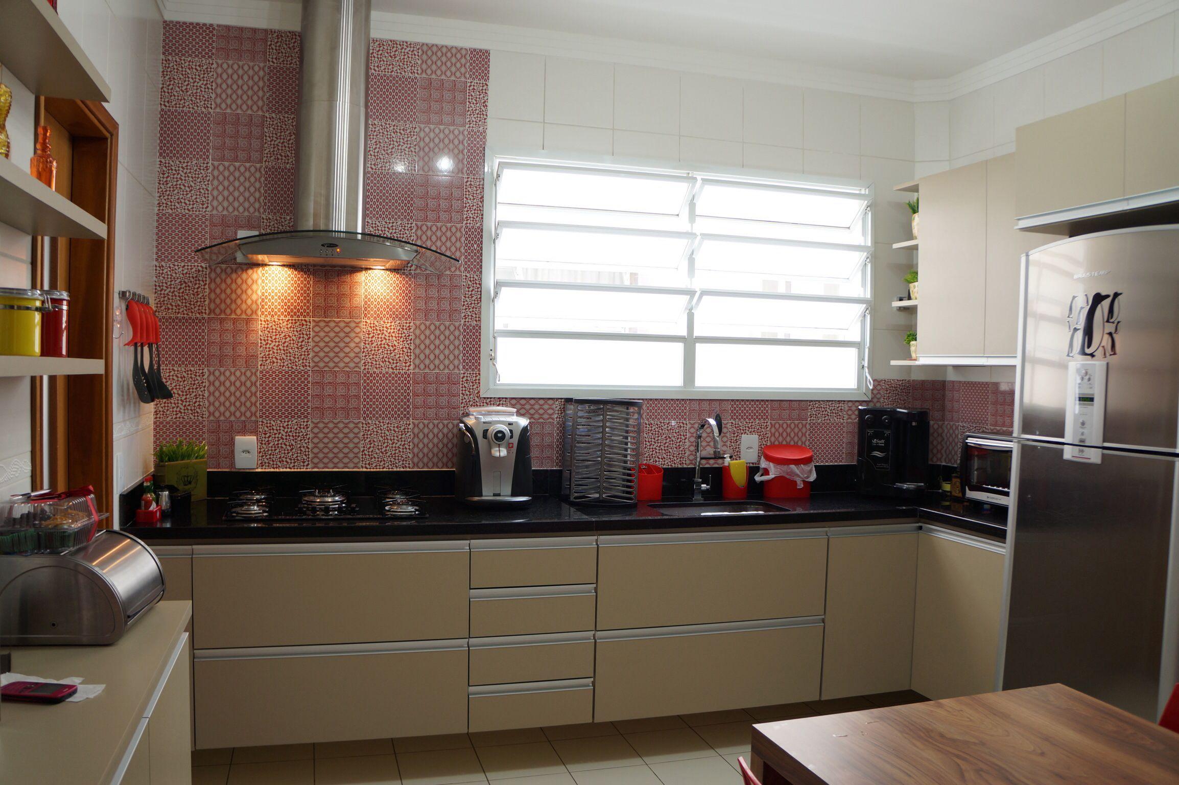 Cozinha Em Formica Ladrilho Hidraulico Portobello Projeto E