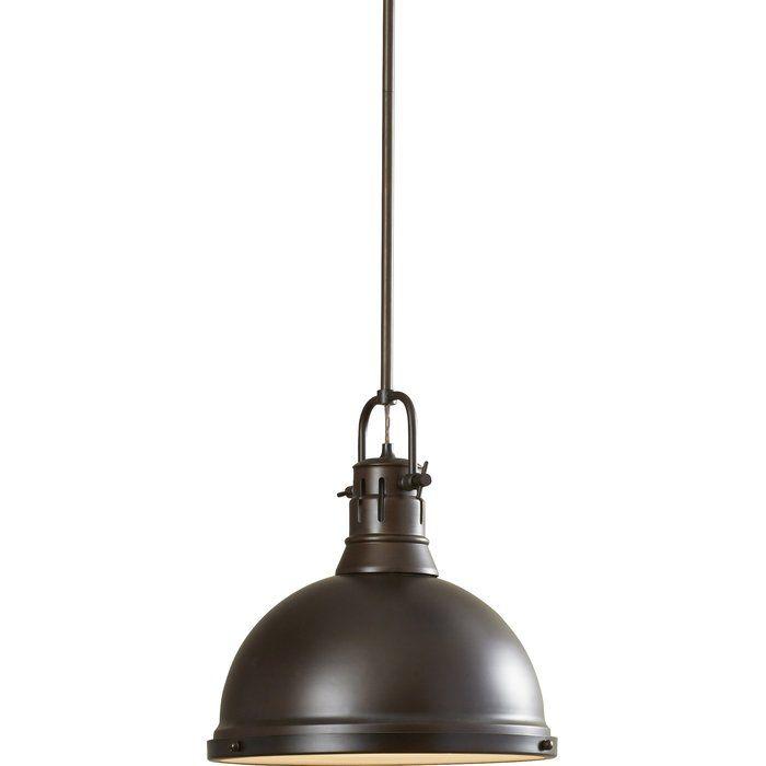 Bodalla 1 Light Single Dome Pendant Lamp Light