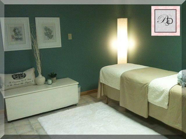 Teal Blue Massage Room Nice Massage Room Decor Massage Room Reiki Room