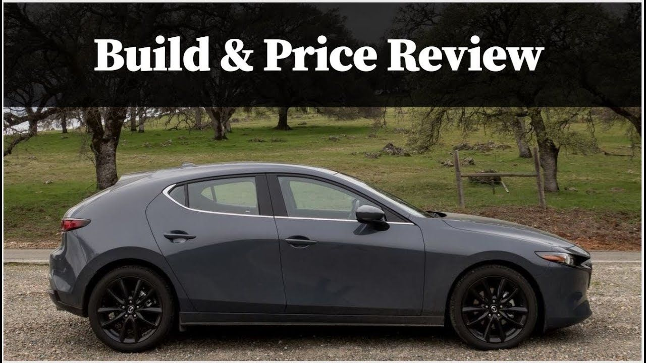 2019 Mazda 3 Hatchback With Premium Package Fwd And Manual