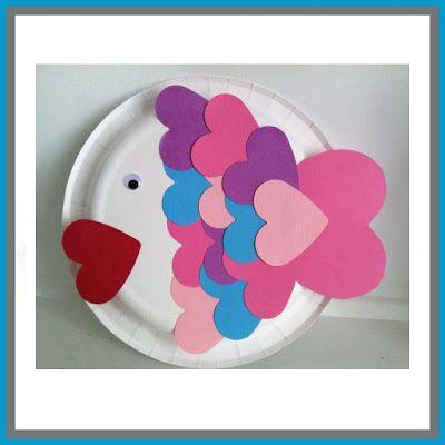 St Valentine's Day Heart Fish