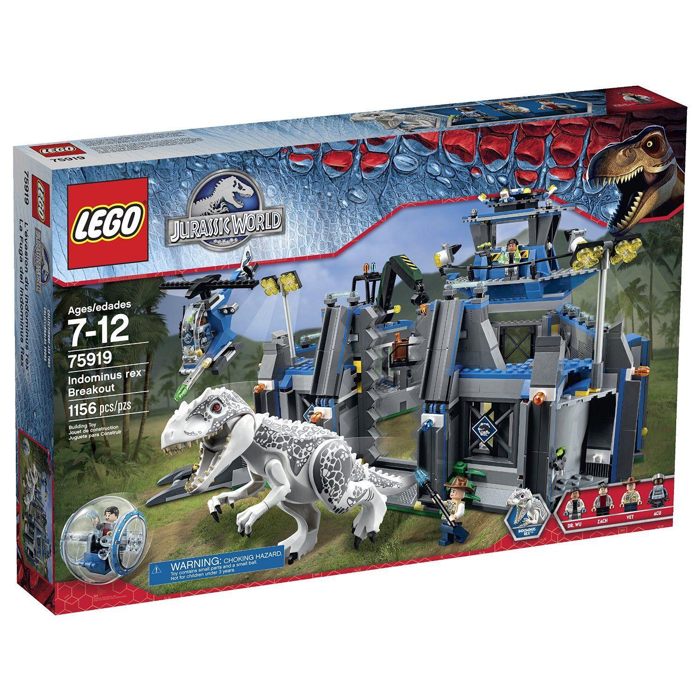 Amazon lego jurassic world indominus rex breakout 75919 lego gumiabroncs Choice Image