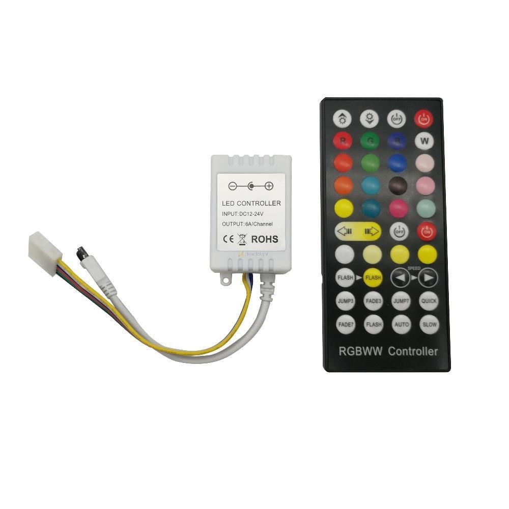 40 Keys Rgb Cct Ir Led Controller Led Dimmer For Rgb Cct Led Us 7 14 Led Dimmer Led Controller Led Strip Lighting