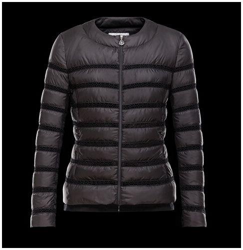Mode doudoune femme moncler Outlet LEMAIRE veste court Col Noir ... 8940d761b44