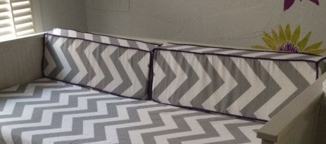 Set Of 2 Custom Daybed Wedge Bolster Cover 36 X 9 12 Any Premier Prints Fabric Cushion Not Included