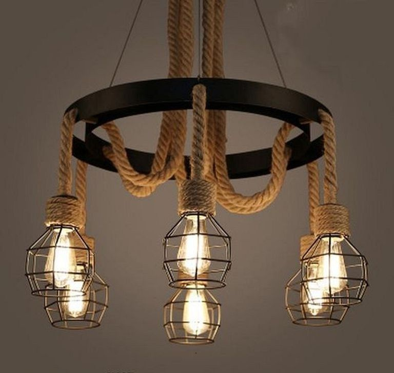 24 Cool Vintage Industrial Pendant Light Ideas For Every Room Lighting Lightingdesign Lightingideas Ceiling Light Shades Rope Chandelier Iron Lighting