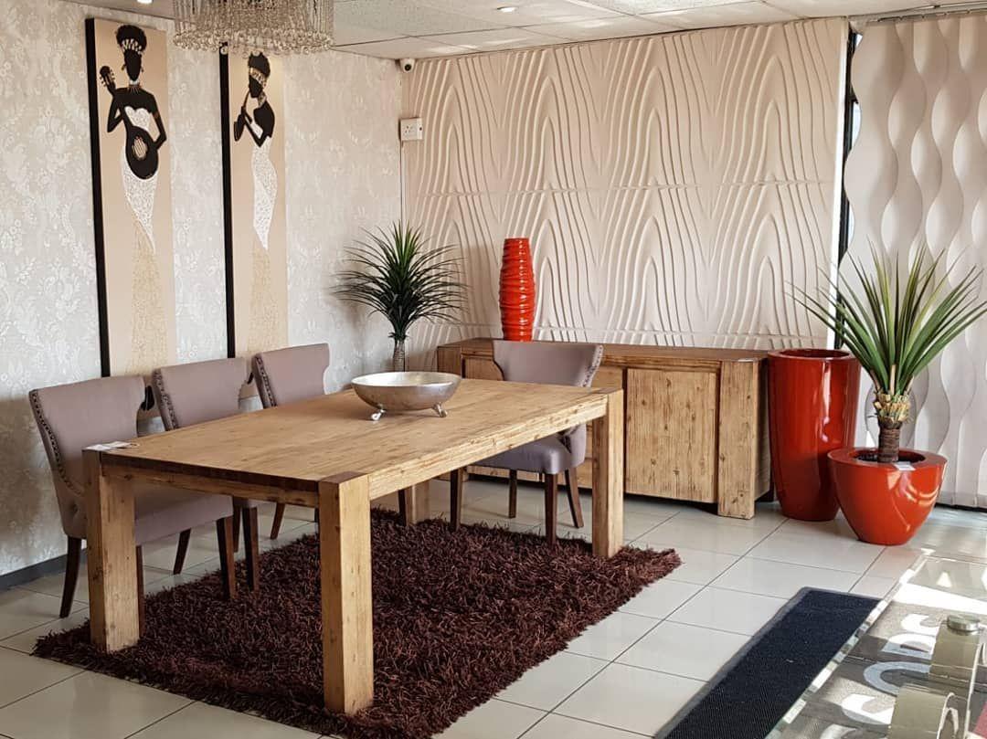 Come dine with us Essops Home style!  #essopshome #furniture #lighting #accessories #style #comfort #interiordesign #decor #trends #interiordecor #homedecor #settingtrends #modern #elegance #dinner #dinningroom #dinningtable