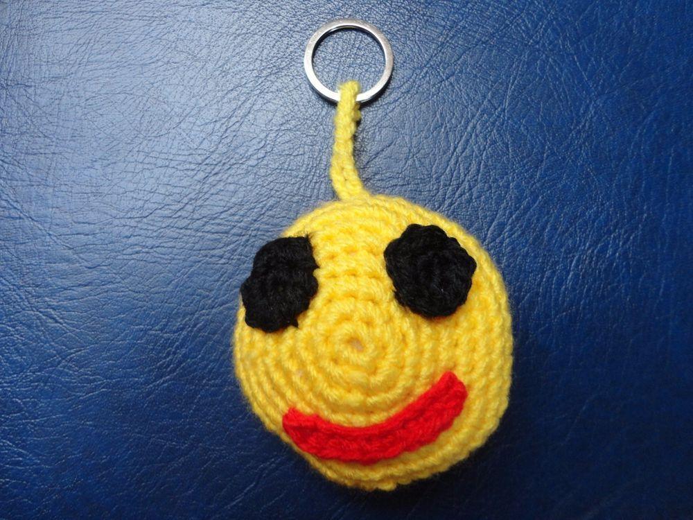 Details Zu Emjoi Smiley Schlüsselanhängertaschenbaumler