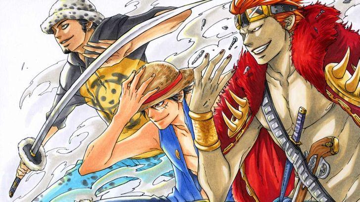 Monkey D Luffy Family Tree One Piece Anime Eustass Kid
