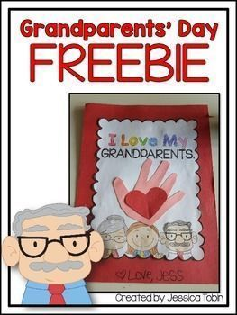 Grandparents' Day #grandparentsdaycrafts Grandparent's Day FREEBIEHere is a one page (with different boy/girl options) craft to use for Grandparent's Day! You will print how many boy or girl pages you need, let the students color, cut, and glue a card for their Grandparents'. The middle of the craft involves students tracing or painting their hand and putting a heart right in the middle. #grandparentsdaygifts Grandparents' Day #grandparentsdaycrafts Grandparent's Day FREEBIEHere is a one page (w #grandparentsdaygifts