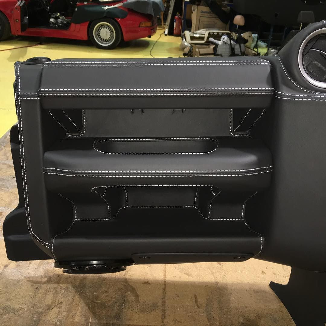 Take A Standard Plastic 2015 Land Rover Defender Dash And