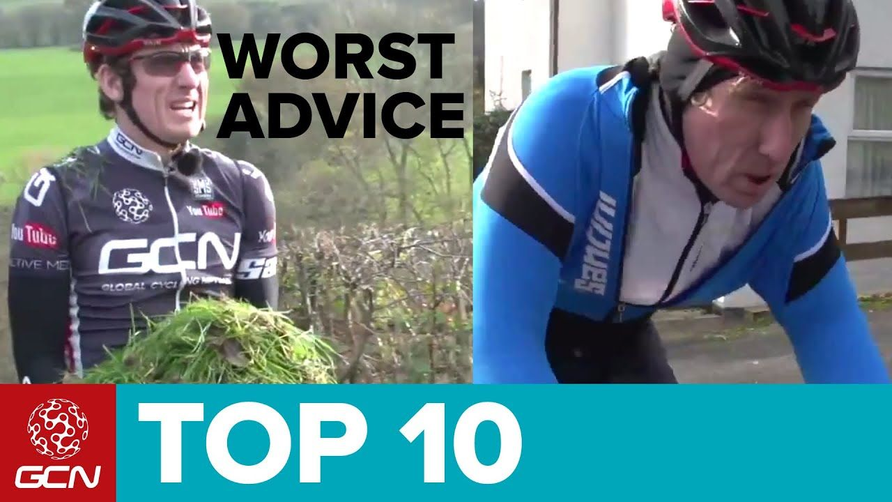 c838505a0ed Top 10 Worst Cycling Tips. Global Cycling Network (GCN) Video on YouTube.