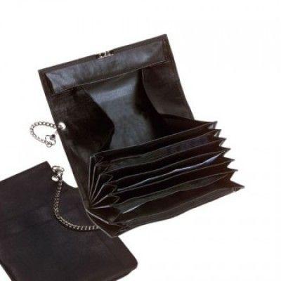 Peňaženka s retiazkou čierna