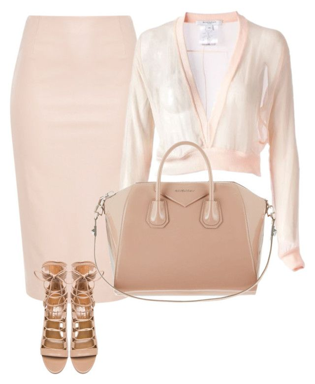 """""""'NUDIST' by Melissa's Mirror"""" by melissas-mirror ❤ liked on Polyvore featuring Aquazzura and Givenchy"""
