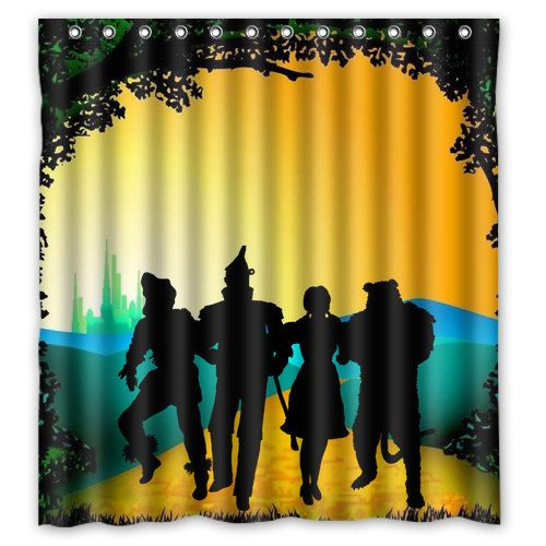Off To See The Wizard Of Oz Shower Curtain