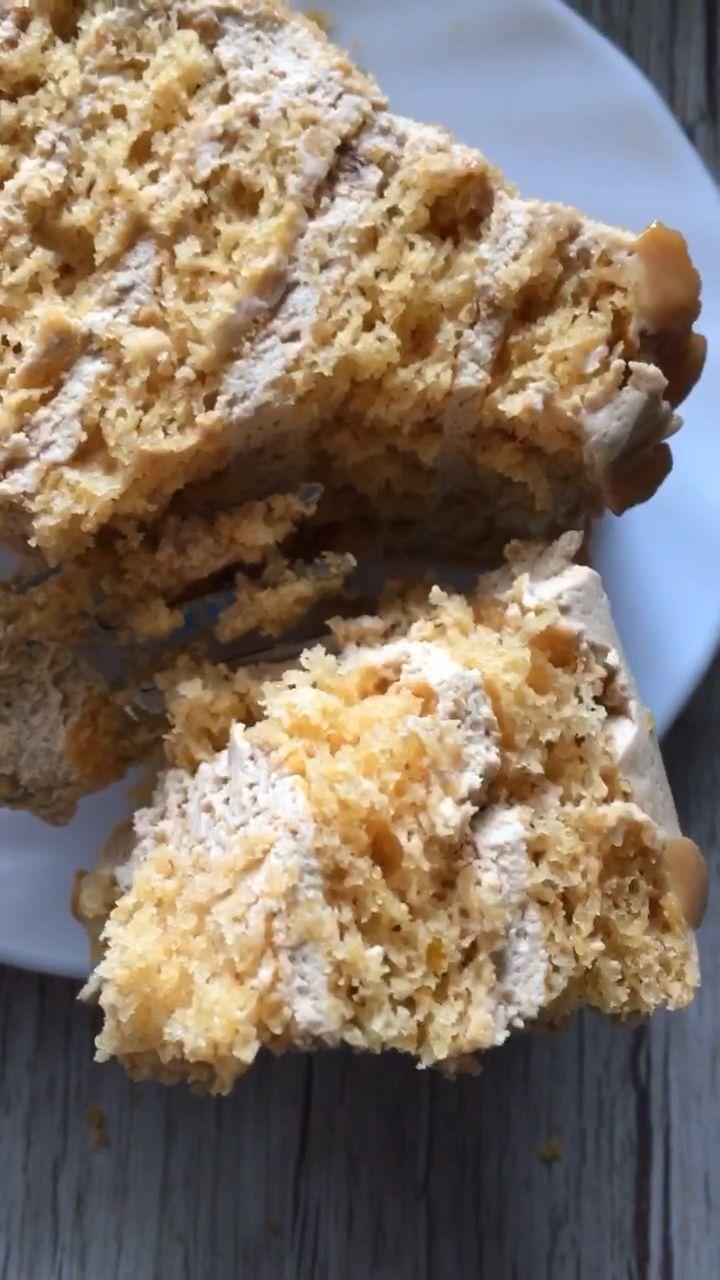 Torte Karamellmädchen – einfaches Rezept für zarte Schichttorte