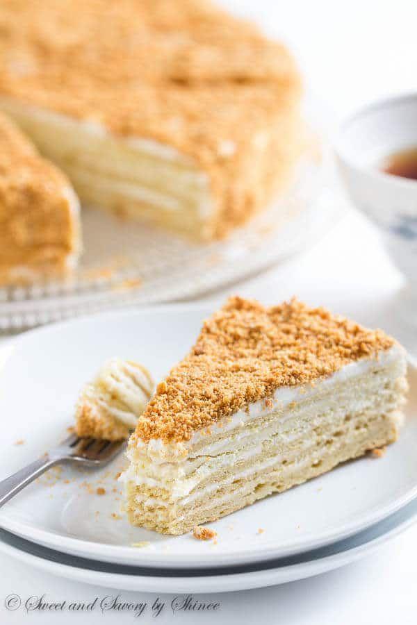 Russian Cake Napoleon Rezept Cake Classics Pinterest