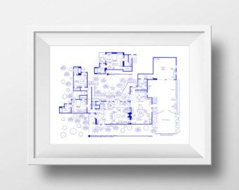 The Sopranos House Floor Plan Poster - Expertly Hand-Drawn ... on simple house electrical plan, simple affordable house plans, simple one bedroom plans, simple plot plans, simple house roof plans, simple studio plans, simple house designs, simple house blueprints, small house plans, simple residential house plans, simple house line art, simple office plans, simple house photographs, simple house site plan, simple floor plan software, simple house foundation plans, simple house diagrams, 3 bedroom house simple plans, simple house drawings, simple two-story house plans,
