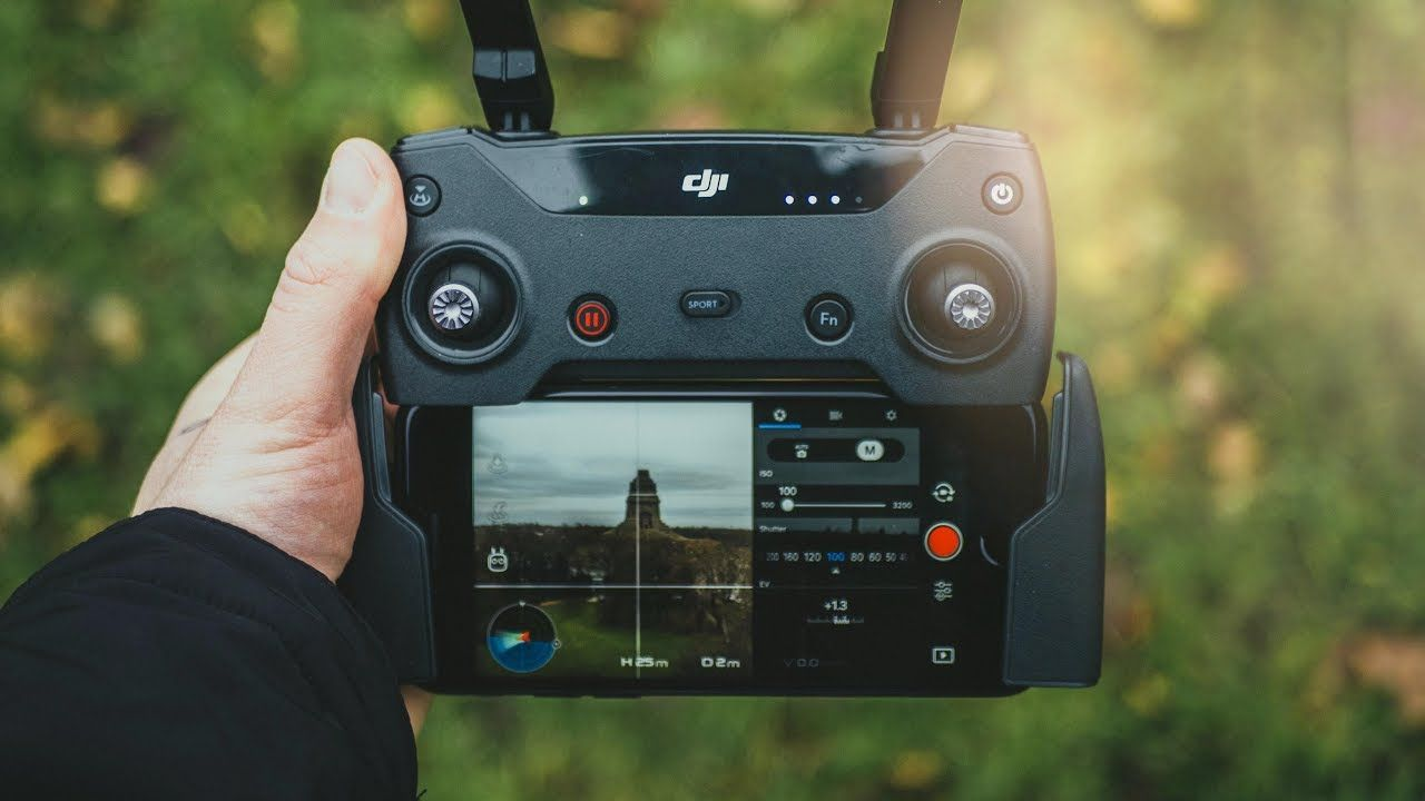 DJI SPARK | Best SETTINGS For CINEMATIC DRONE SHOTS