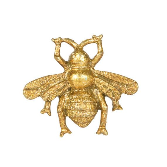 Gouden Goud Busy Bee Lade Knop Lade Handvat