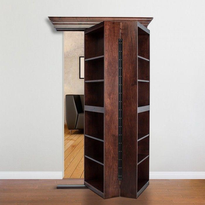 Murphy Door, Inc. Hidden rooms, Secret rooms, Bookcase door