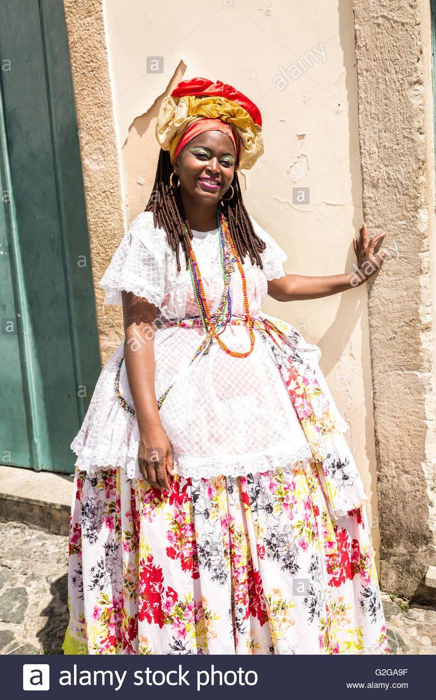 bRAZILLIAN traditional clothing    afro brazilian