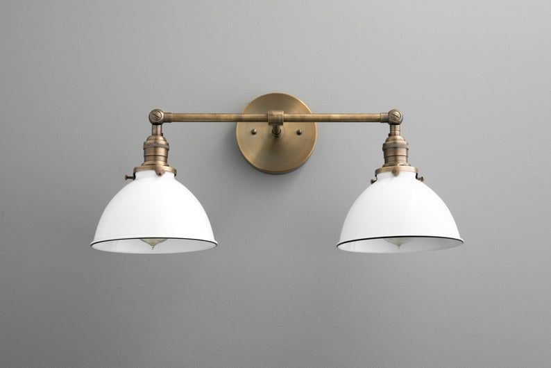 Photo of Wall lighting – vanity light – farmhouse lighting – bathroom fixture – wall light – adjustable lighting – lighting – model No. 4564