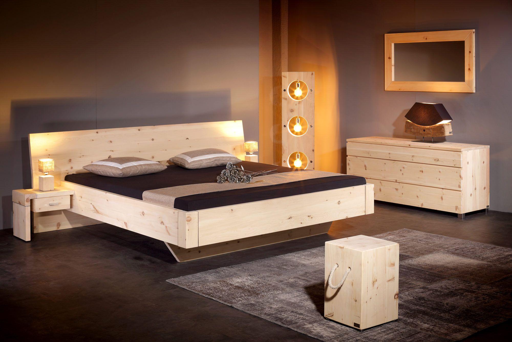 Bett Alpina Arve Zirbe Zirbenholz Bett Schlafzimmer Einrichten Bett