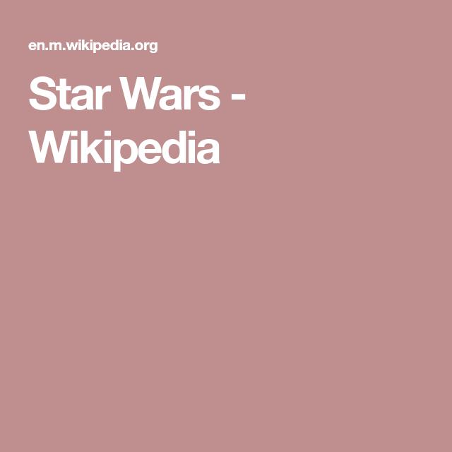 f501556da24 Star Wars - Wikipedia The Four